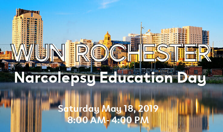 Registration is OPEN for WUN's Rochester Narcolepsy Education Day